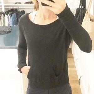 Lululemon Dark Gray Sweater Size 4